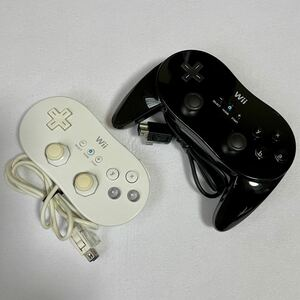wii コントローラー クラシックコントローラー クラシックコントローラーPRO 純正品 セット