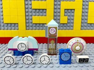 ☆時計☆ レゴ ミニフィグ用小物 大きな時計 振り子時計 デジタル時計 ( LEGO シティ ディズニープリンセス
