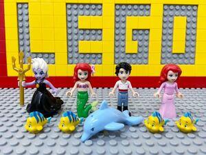 ☆リトルマーメイド☆ レゴ ミニフィグ アリエル アースラ 王子 フランダー など ( LEGO 人形 ディズニープリンセス
