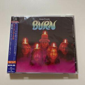 【美品SHM-CD】Deep Purple / BURN 30th 限定版