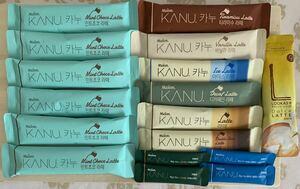 maxim KANUラテ 韓国コーヒー お試しセット 9種16本