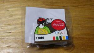 コカ・コーラ ピンバッジ オリンピック 京都 KYOTO【新品未使用】