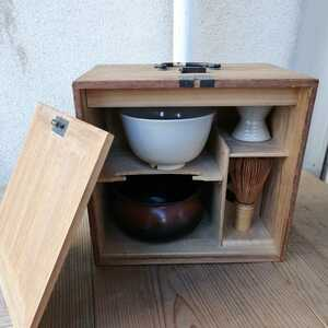 茶道具セット 色紙箱 いろいろ6品入 茶道具 茶箱 道具一式