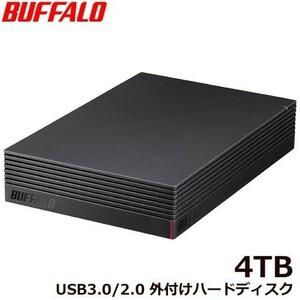 バッファロー HD-NRLD4.0U3-BA 4TB  外付HDD