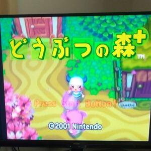ゲームキューブ用 どうぶつの森+