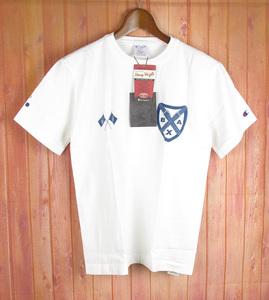 SMRKTS7712 A BATHING APE アベイシングエイプ チャンピオン Tシャツ SMALL 新品 ホワイト系 (クリックポスト可)