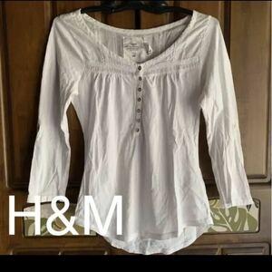 新品H&Mトップス綿100