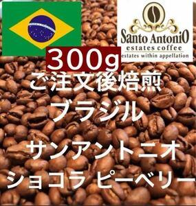 ブラジル ショコラ ピーベリー 300g 注文後焙煎します ※即購入可