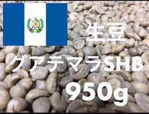 生豆 グアテマラ SHB 950g 自家焙煎に