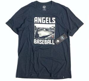[新品・本物・US正規品] 47Brand Los Angeles Angels Club T-Shirt エンゼルス スタジアム Tシャツ MLB公式 大谷翔平 US:XL