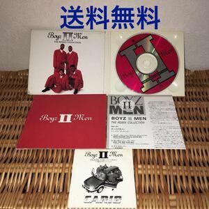 洋楽 CD Boyz Ⅱ Men ボーイズ Ⅱ メン The REMIX COLLECTION 英語歌詞 和訳つき トヨタ CARIB 8cm CD THANK YOU 紙ジャケ