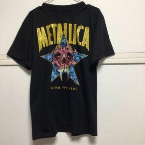 新品 メタリカ ビンテージバンドTシャツ L