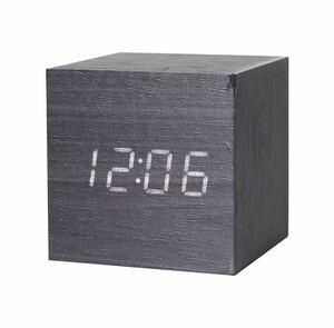 全4種類 要1種類選択 LED 木製目覚まし時計 置き時計 デジタル置き時計 木目調 温度湿度計 多機能 デジタル USB インテリア 時計 944
