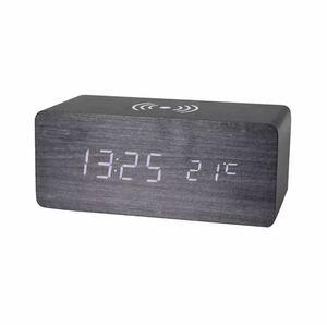 全6種類 要1種類選択 LED 木製目覚まし時計 置き時計 デジタル置き時計 木目調 温度湿度計 多機能 デジタル USB インテリア 時計 947