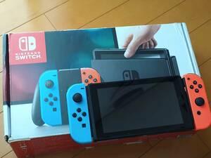 【中古/買い替え】Nintendo Switch ニンテンドースイッチ 旧モデル HAC-5-KABAA(JPN) ジャンク品