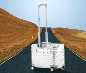 実用★アルミスーツケース 17インチ 5色 アルミトランク トランク 小型 旅行 TSAロック キャリーケース キャリーバッグ 機内持ち込み22000