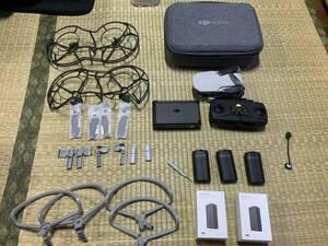 DJI Mavic Mini Fly More combo ドローン 中古 バッテリー合計5個 大容量バッテリー 2400mA 2個 予備プロペラ4セット プロペラガード