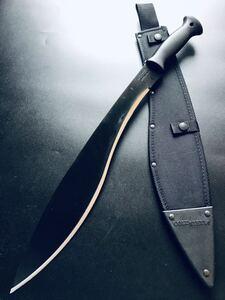 スピード発送!期間限定価格。【送料無料】大型マチェット 大型ナイフ ナイフ 全長:563mm!鉈 マチェットB
