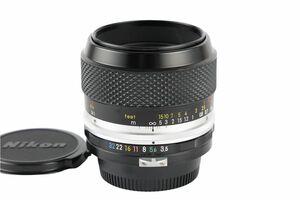 03335cmrk Nikon Micro-NIKKOR-P Auto 55mm F3.5 単焦点 マクロレンズ Fマウント