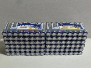 (33) パナソニック エボルタ アルカリ乾電池 単4形96本
