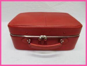 アニエスb アニエスベー レザーミニボストン スーツケース BOXハンドバッグ
