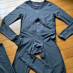 SKINS RY400 メンズ ロングスリーブ サイズS&ロングタイツ サイズSS コンプレッション リカバリー スキンズ