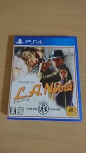 【PS4】 LAノワール ソフト