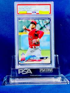 【PSA9鑑定済】大谷翔平★Topps Update★2018★Pitching In Red Jersey★Rookie★RC★ルーキーカード★BASEBALL★US1