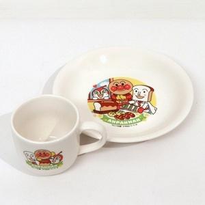 フレーベル館・アンパンマン・パン皿セットの商品画像