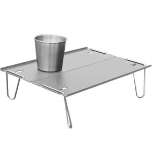 アウトドアテーブル キャンプローテーブル ミニ 折りたたみ アルミ製