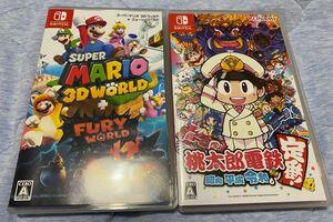 スーパーマリオ3D+フューリーワールド 桃太郎電鉄 セット ニンテンドースイッチソフト Nintendo Switch