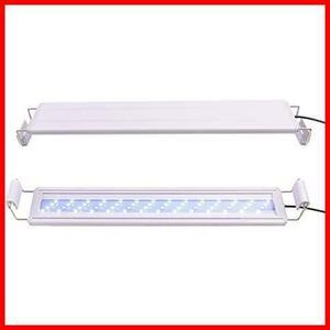 HOPOPOWER水槽用ledライト14W アクアリウムライト熱帯魚 (63白+9青)ビーズ フィッシュタンクライト 48-60CM水槽対応 水槽照明LEDライト