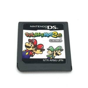 ★中古品★ 即納 マリオ&ルイージRPG2 ソフトのみ Nintendo DS ニンテンドー マリオ&ルイージRPG2×2
