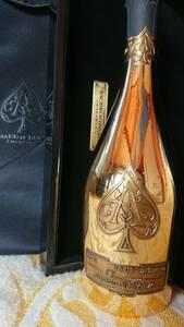 送料無料 空き瓶 アルマンド ブリニャック ゴールド ブリュット シャンパン 白 ワイン 空ボトル フランス シャンパーニュ JAY-Z セレブ