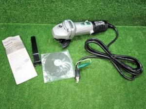 未使用 HITACHI 日立工機 100mm 細径 日立電気ディスクグラインダ G10SH4 【2】