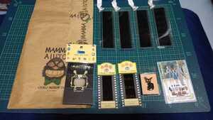 三鷹の森ジブリ美術館 入場券 フィルムブックマーカー フィルムビューワー 魔女の宅急便ピンズ 猫の恩返しテレカ