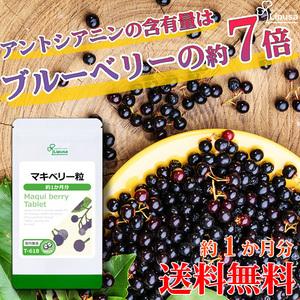 【リプサ公式】 マキベリー粒 約1か月分 T-618 サプリメント サプリ 健康食品 送料無料