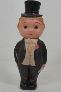 產品詳細資料,日本Yahoo代標|日本代購|日本批發-ibuy99|[珍品]戦前 セルロイド 紳士人形 ブリンキングアイ 1930年代 当時物 日本製 ビンテージ 目…