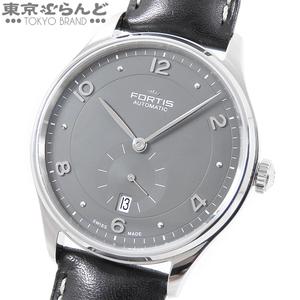 101535635★フォルティス FORTIS ヘドニスト p.m. 時計 腕時計 メンズ 901.20.11 自動巻 グレー スモールセコンド デイト SS