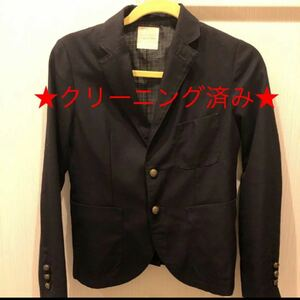 テーラードジャケット 黒 ボタン ローリーズファーム