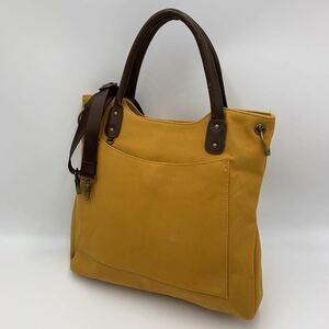 * 使い勝手抜群 '人気シルエット' cm&inch キャンバス生地 2way ショルダーベルト付き ハンドバッグ 手提げ 肩掛け鞄 トート 婦人鞄
