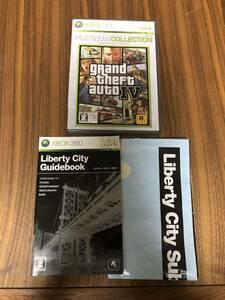 送料無料 完品 Xbox360★グランド・セフト・オート 4 IV★used☆GTAIV☆import japan