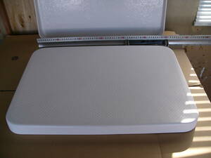 ヤマハ ハッチ  平面重量タイプ 厚さ6mm 上部外寸:61.7×44.1×4.5cm: ボート 和船 カメ 蓋 生け簀フタ FRP製 未使用