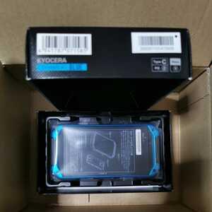 新品未使用品 au TORQUE G04 KYV46 ブルー SIMフリー SIMロック解除済み