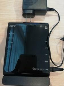 無線ルーター NEC Wi-Fi PA-WG1200HS無線LANルータ