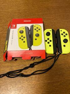 Nintendo Switch ジョイコン ネオンイエロー 動作確認済 ニンテンドースイッチ Joy-Con