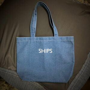 Ships トートバッグ 10月末迄の延長セール 値下げ不可