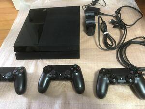 PS4 PlayStation4 CUH-1007A 純正コントローラー3個付き