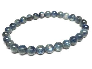 g500円★【カイヤナイト】藍晶石☆天然石ブレスレットM★7mm