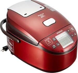 【最安値♪】日立 炊飯器 圧力IHスチーム 5.5合 RZ-WV100M R
